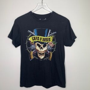 Bravado | Guns and Roses Graphic Tee Small